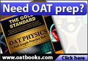 OAT books to increase performance in the Optometry Admission Test.